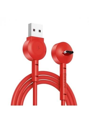 Baseus Kablo & Şarj Aleti Kırmızı